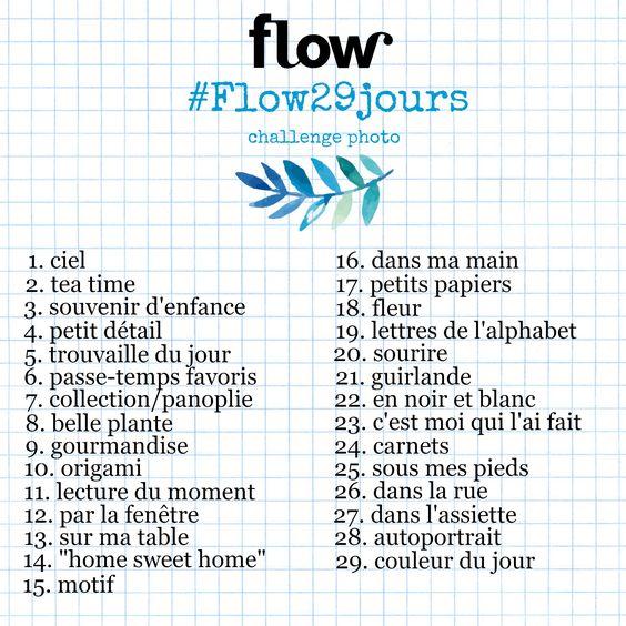 #Flow29jours